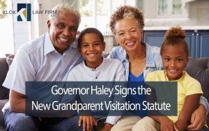 Governor-Haley-signs-the-new-grandparent-visitation-statute