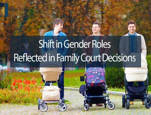 Shift in Gender Roles Reflected in Family Court Decisions