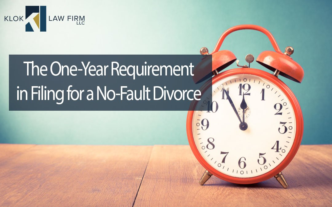 The-One-Year-Requirement-in-Filing-for-a-No-Fault-Divorce